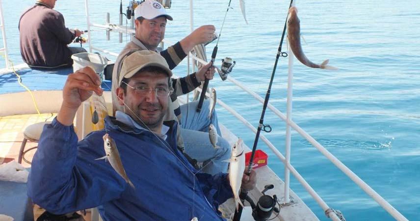 Marmaris Balık Tutma Turu - Marmaris Balık Avı - Bi' Günlük Turlar