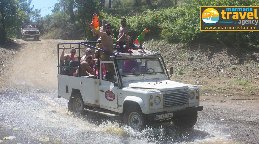 Marmaris Jeep Safari - 4x4 Off-Road Safari - Fiyat ve Detaylar