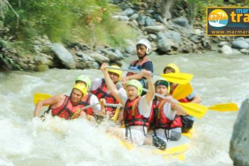 Marmaris Rafting Turu - Dalaman Nehri Rafting - Marmaris Günlük Turlar