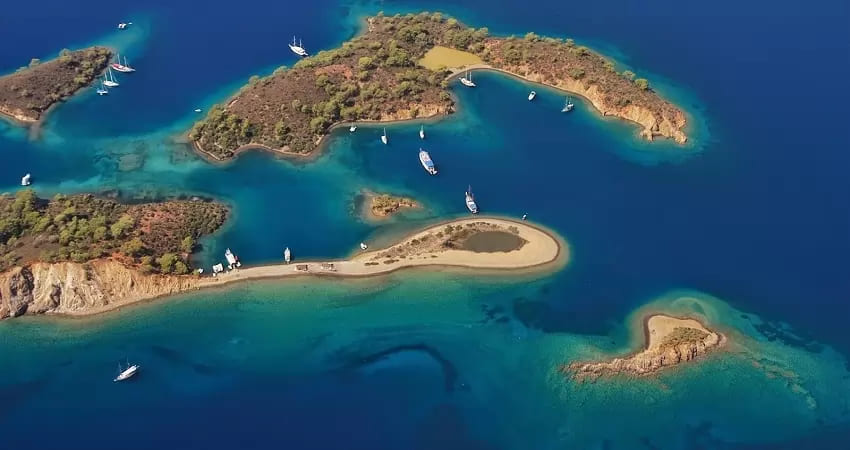 Fethiye Tekne Turu - 12 Adalar - Fiyatlar - Rotalar - Gidilen Koylar