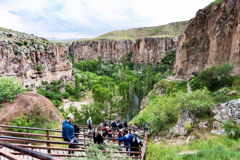 Kapadokya Yeşil Tur - Günlük Turlar - Program ve Fiyatlar
