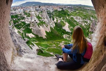 kapadokya kızıl vadi yürüyüş turu