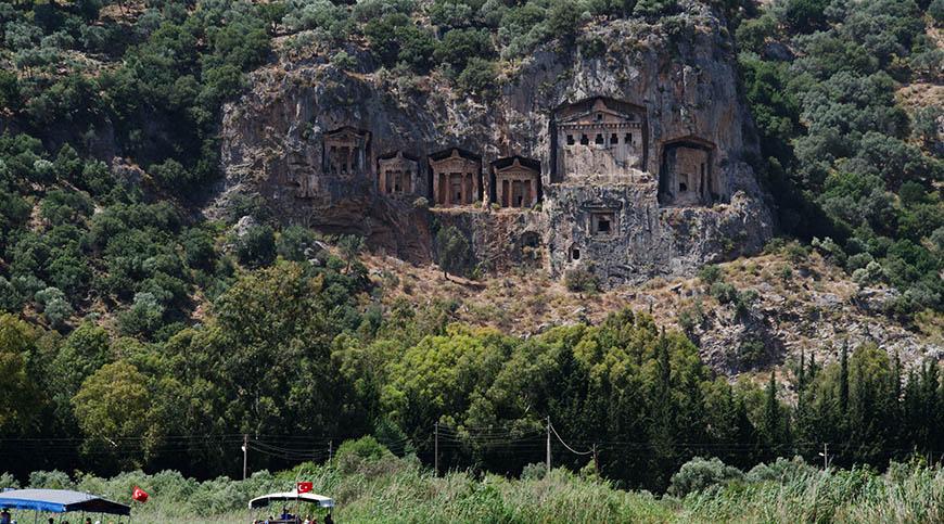 Fethiye Dalyan Turu - Kral Mezarlıkları - Çamur Banyosu - İztuzu Plajı