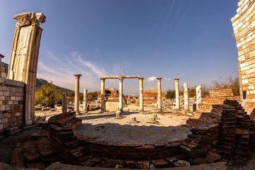 Fethiye Efes ve Pamukkale Turu - Fethiye çıkışlı 2 günlük tur