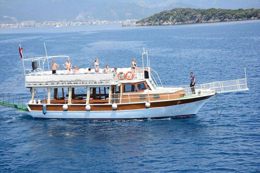 Marmaris Tekne 4 - Uygun Fiyatlar ile Marmaris Tekne Kiralama