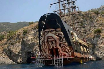 Marmaris Korsan Tekne Turu - 2021 Davy Jones - Program ve Fiyatlar
