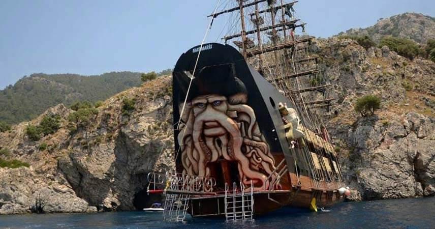 Marmaris Korsan Tekne Turu - 2021 Davy Jones - Program ve Fiyatlar