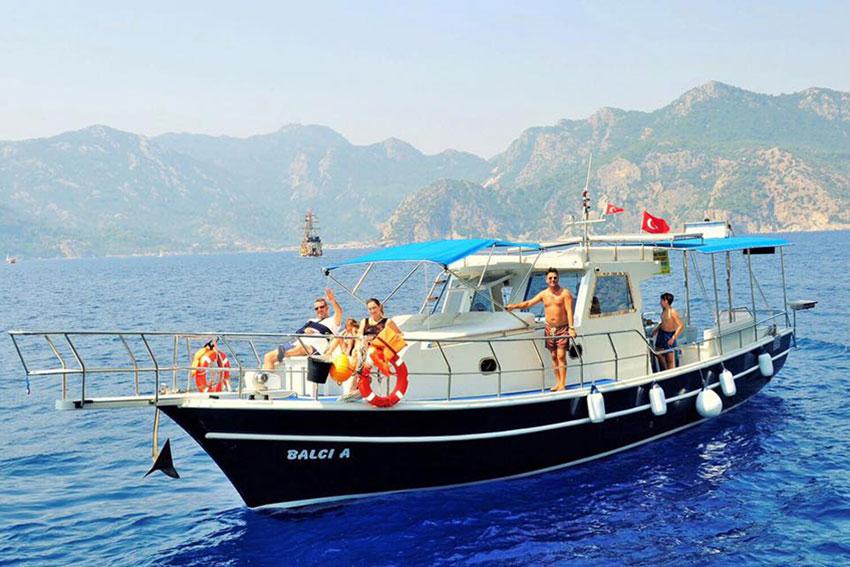 Marmaris Tekne 1 - Marmaris Tekne Kiralama / Günlük Tekne - Fiyatlar
