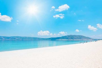 Antalya salda gölü