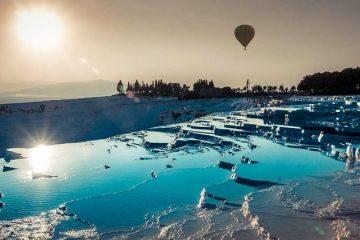 Antalya Pamukkale Turu - Pamukkale Sefalarında Balon Keyfi!
