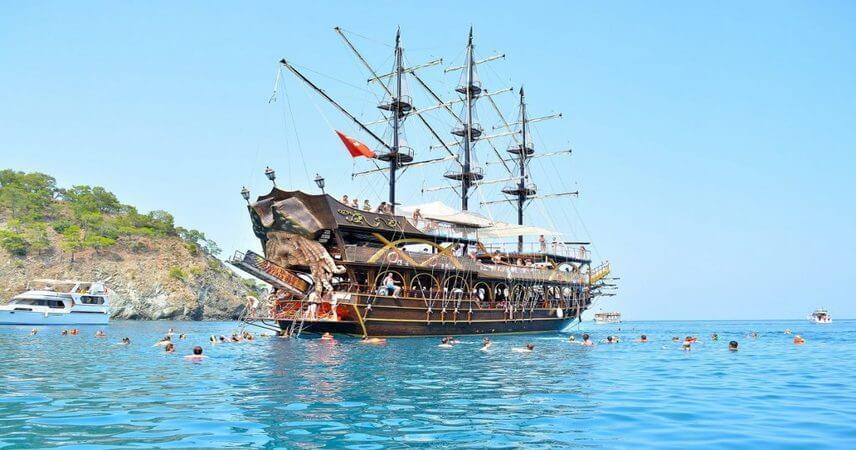 Kemer Korsan Tekne Turu 2021 - Fiyatlar - Koylar - En Uygun Fiyat