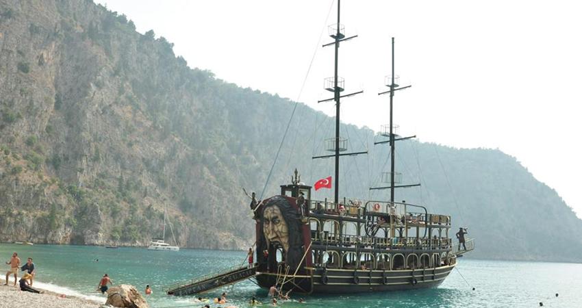 Fethiye Ölüdeniz Korsan Tekne Turu